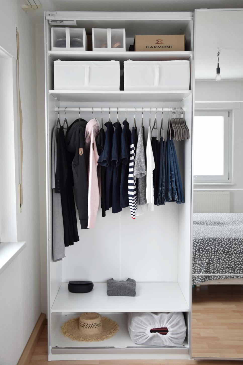 metoda konmari szafa ubrania